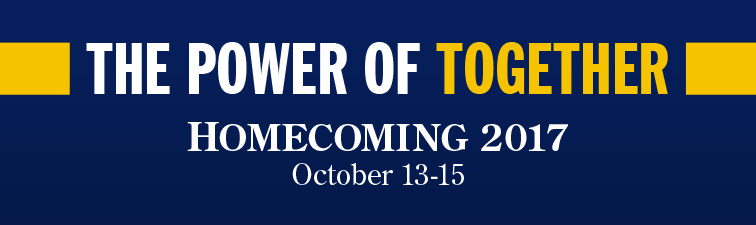 The Power of Together, Homecoming Oct. 13-15