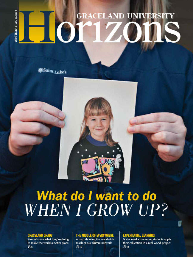 Horizons Winter 2018 cover