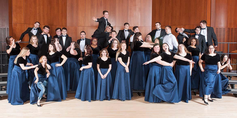 Graceland University traveling choir