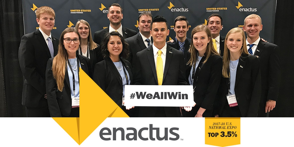 Photo of Graceland University Enactus team